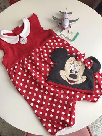 Vand salopeta Disney bebe 6-9 luni Noua ( cu eticheta)