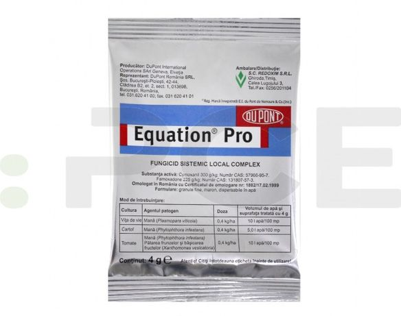 Vând fungicid EQUATION pro-0,400 g