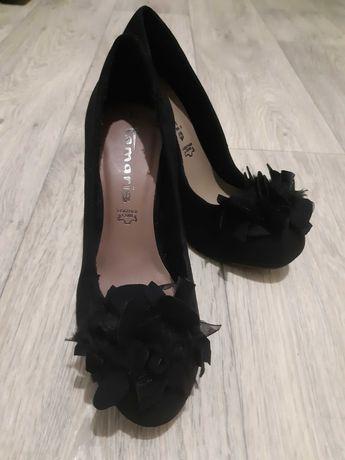 Продам замшевые туфли Tamaris