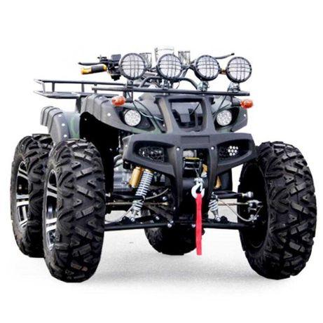 ATV 250 cc Full Options Roti 12 Inch Troliu Carlig cu Garantie