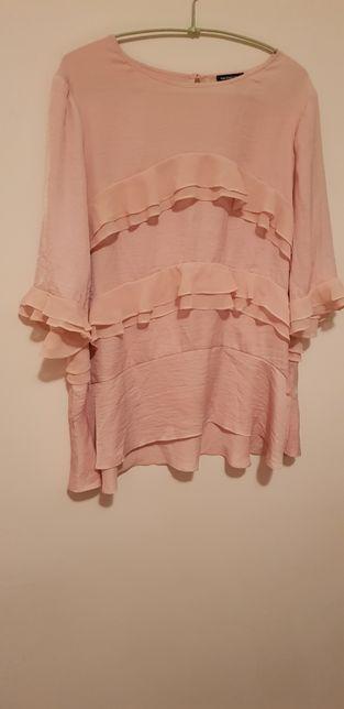 Bluza/camasa gravida, eleganta, comoda, roz, L, TRANSPORT GRATIS