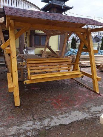 Leagăn lemn masiv