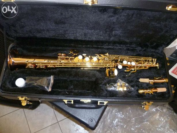 Vand saxofon sopran(si-bemol) drept Thomann TSS-350