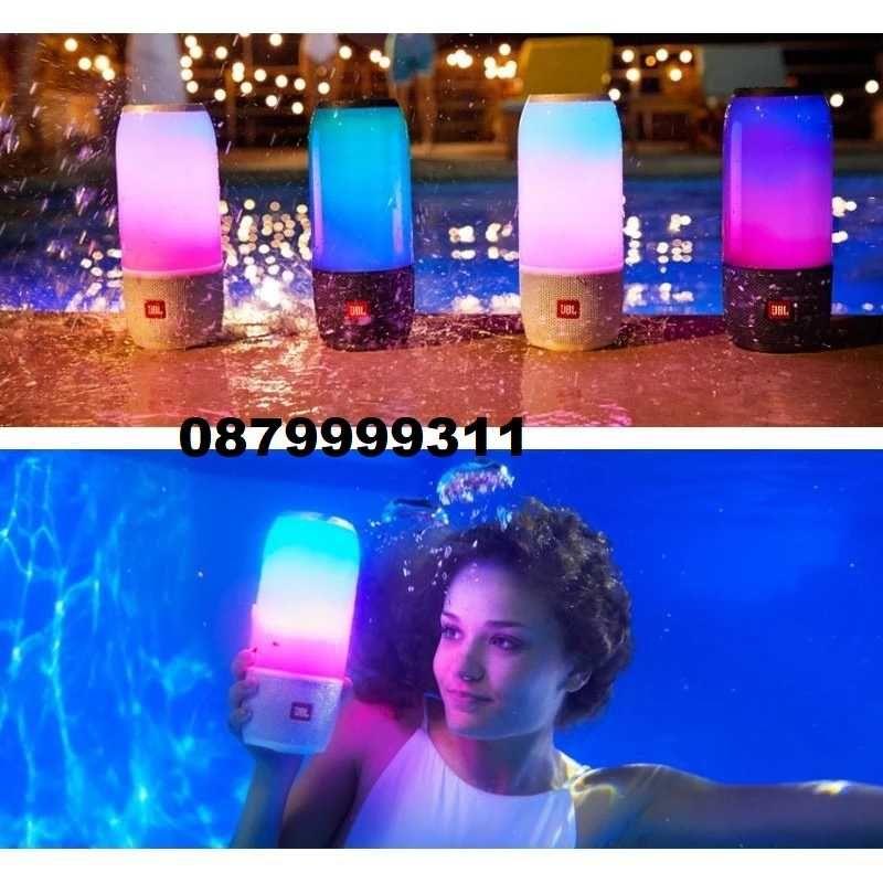 30 % надолу JBL Pulse 3, пренос, водоустойчив Bluetooth светеща колона