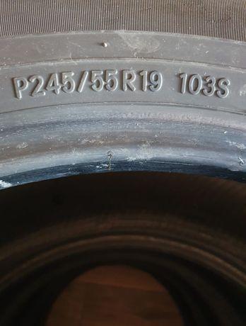 Шины б/у ТОYO 245/55/19 цена 40 000 тг