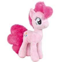 Jucarie de plus Poneiul Dragalas, roz, inaltime 30 cm
