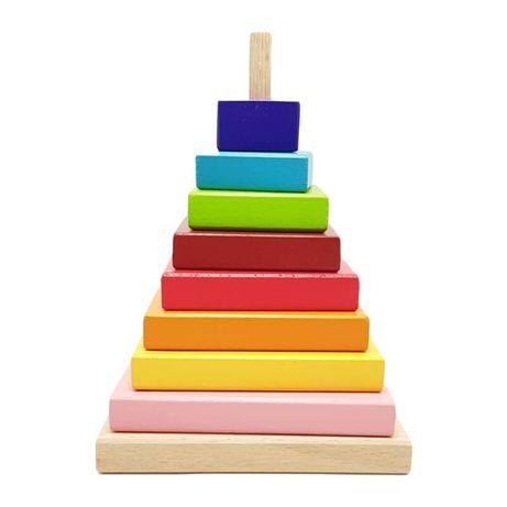 Jucarii Montessori Waldorf tip curcubeu Grimms MULTE MODELE