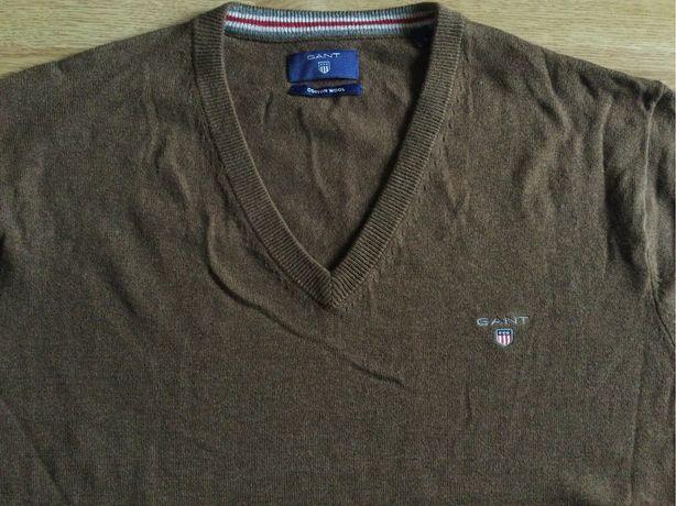 Bluza originala Gant impecabila lâna si bumbac