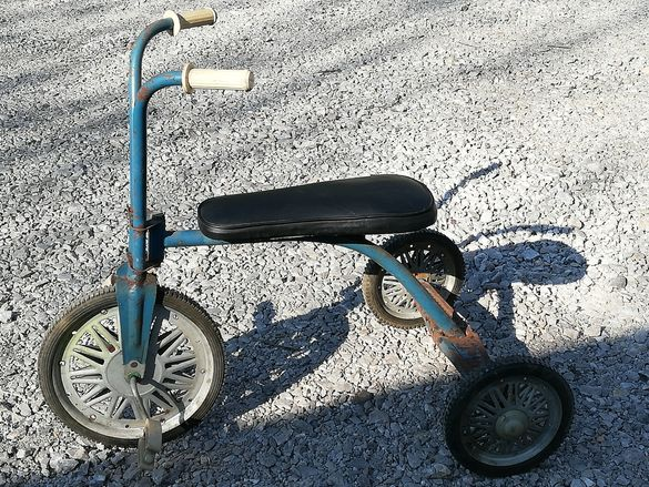 Старо ретро детско колело/триколка/1970г.Отлично работещо.