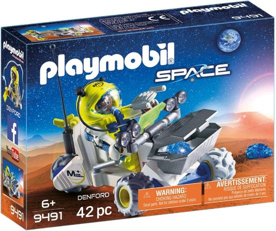 Playmobile space mars mission 9491 роувър