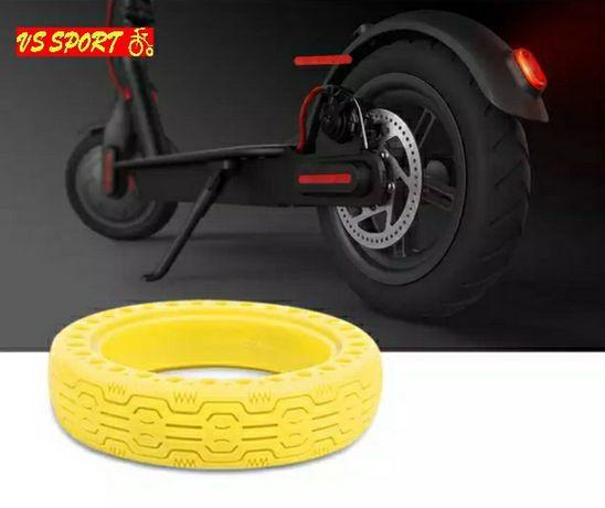 Безкамерна гума за Xiaomi M365  8.5 • Твърда гума за M365 • Жълта