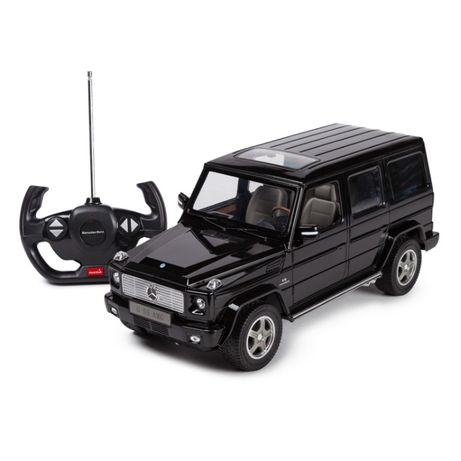Радиоуправляемые машинки Rastar Mercedes AMG G55. На пульте управления