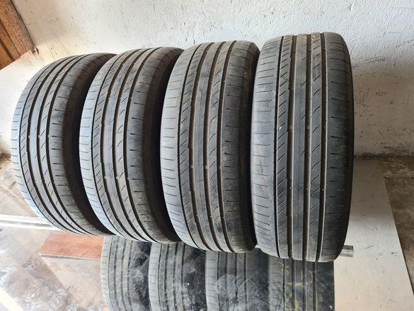 4 бр. летни гуми 225/55/19 Continental AO SUV DOT 4417 4,2 mm