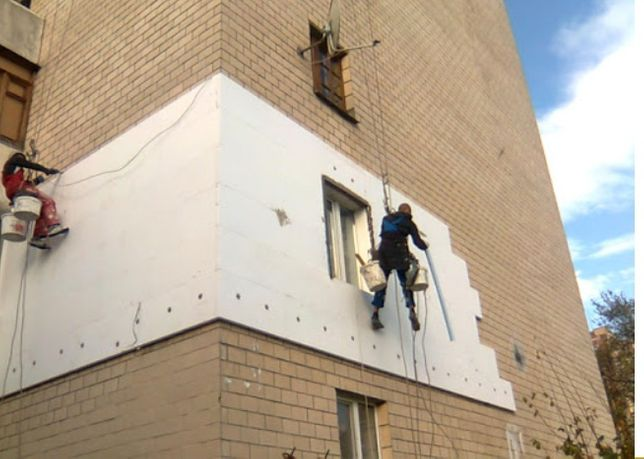 Промышленные альпинист утепление квартир и фасадов