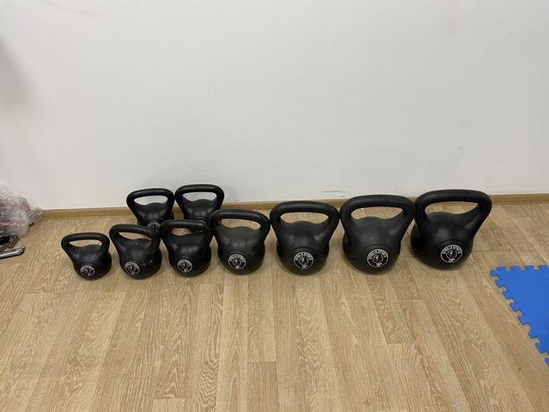 Set gantere Kettlebell noi de la 4 la 20 kg. 4,6,6,8,8,10,14,18,20,Noi