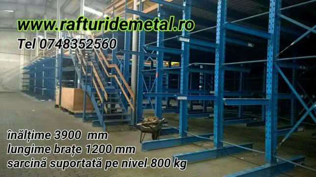 Raft metalic cantilever