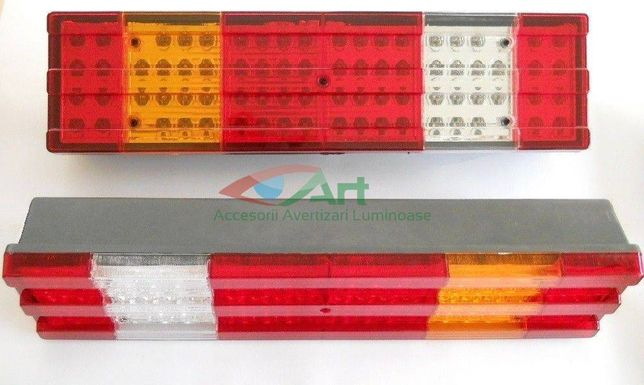 Lampa stop cu led tip Mercedes Actros,atego,viano 24V (52X13)