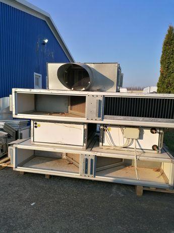 Sistem ventilatie si filtrare industrial
