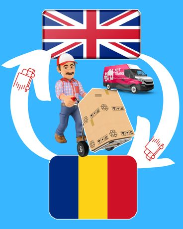 Transport persoane si colete Romania Anglia Germania Belgia Olanda