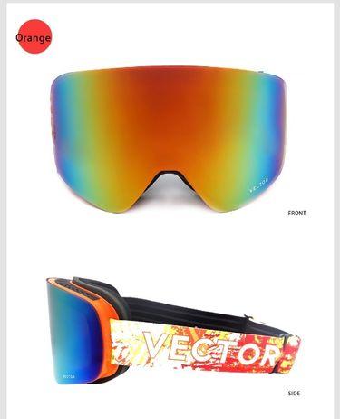 Ochelari ski snowboard Vector Orange