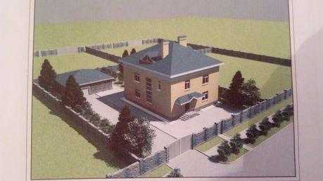 Продам участок с недостроенным домом в Восточной Ильинке