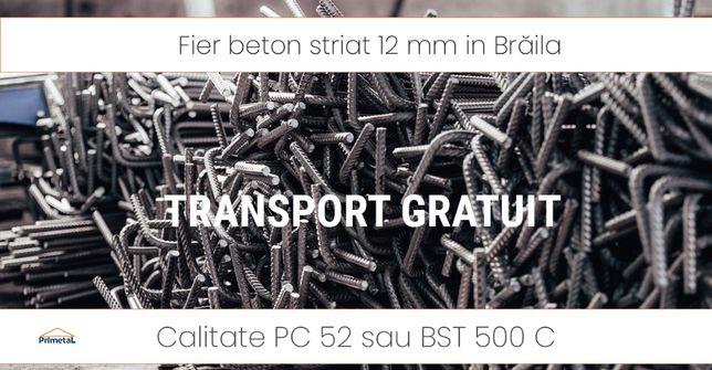 Fier beton PC 12 mm in Brăila transport gratuit