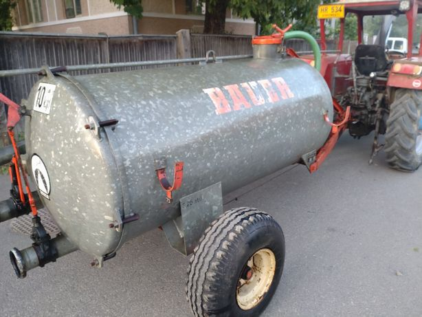 Vidanja 1800  litri dupa tractor