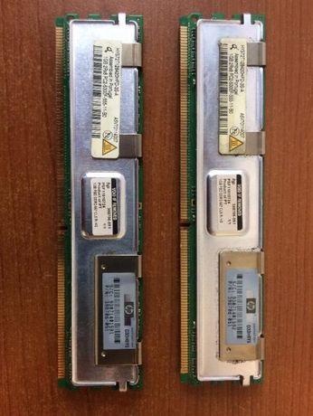 memorii server hp 1 gb fiecare , 2 x1 gb