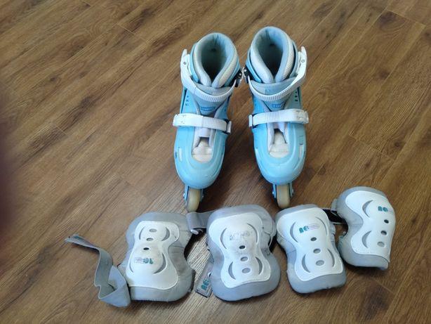 Роликовые коньки детские