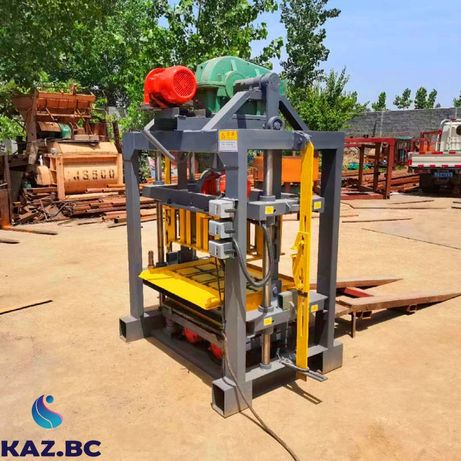 Станок для производства пескоблоков и шлaкоблоков модель 4-40