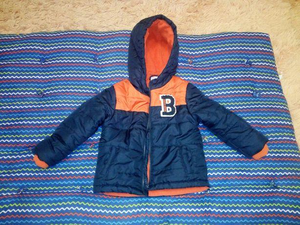Продам детскую утепленную куртку