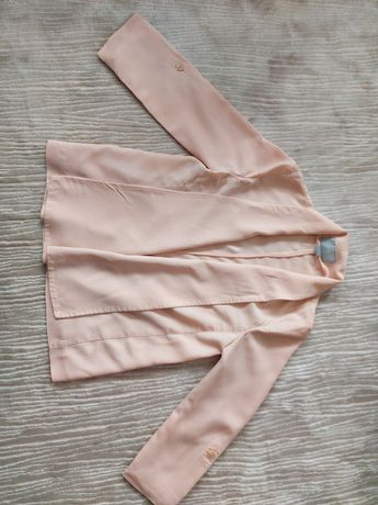 Сако, тренч цвят пудра, светло розово, HM