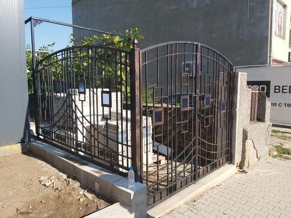 изработка на портални врати и огради