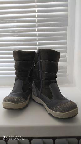 Зимняя обувь для девочки на цигейке