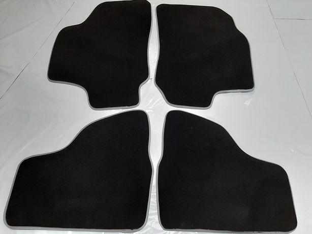 Covorase mocheta/velur (Negru+Gri) Opel Astra G (1998-2009)