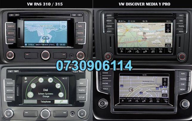 Sd card harti navigatie 2019 Passat Golf 6 7 Pro RNS 315 310 VW Skoda