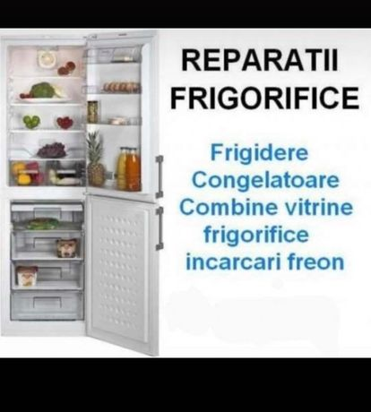 Reparații frigidere Indesit,Arctic,Samsung,Beko,Electrolux,Sharp.