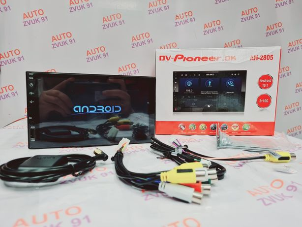 Акция! Магнитола Android/Андроид Pioneer. Магнитафон. 2гб и 16гб