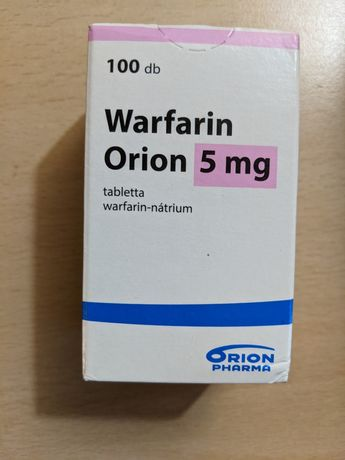 Warfarin - anticoagulante