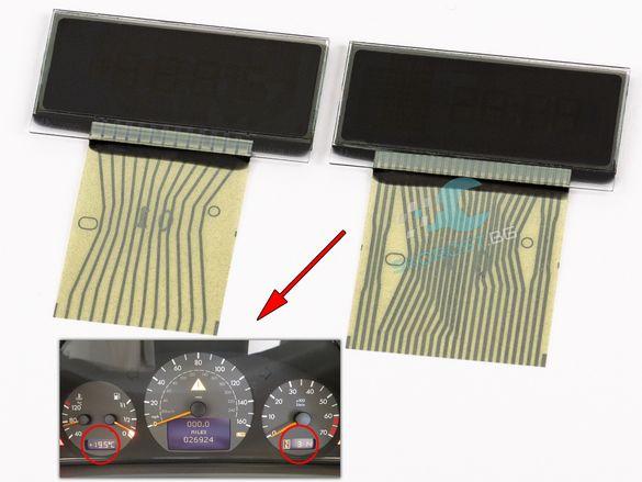 LCD Display Дисплей за Километраж МЕРЦЕДЕС MERCEDES C E CLK SLК