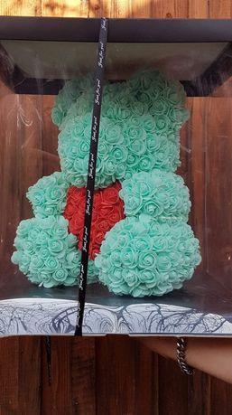 Ursuleti flori de spuma 40 cm