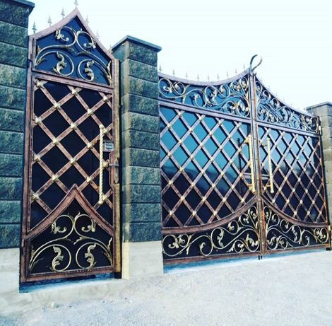 Ворота навес на заказ