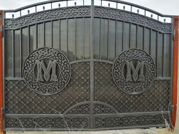 Изготовление любых изделий из металла: Ворота,двери,навесы и.тд