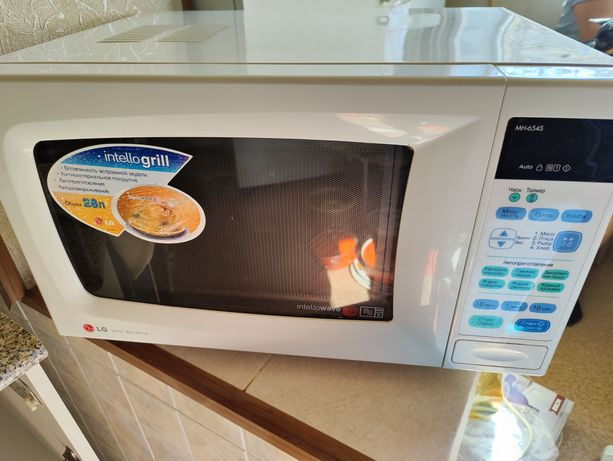 Продам микроволновую печь LG