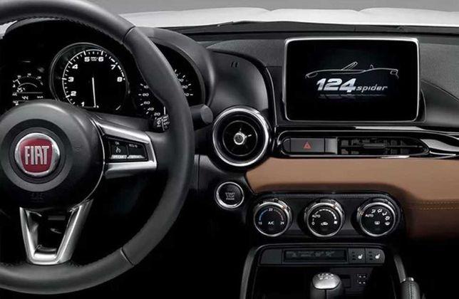 Card FIAT 124 Spider Classica Lusso Abart Connect Navi EUROPA 2020