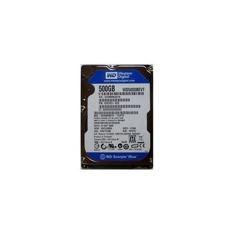hard disk laptop sata western digital scorpio blue 500gb