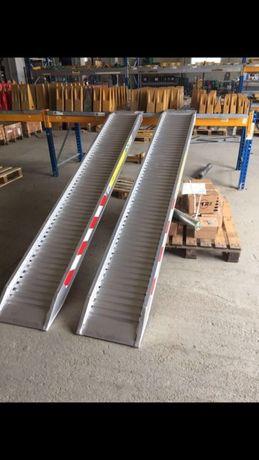 Rampe aluminiu incarcare utilaje 3,8tone