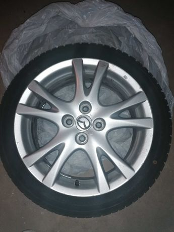 Jante Mazda 2 și 4 cauciucuri de iarna 195 45 16