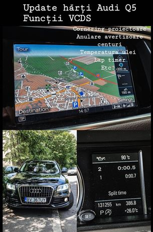 Update hărți Audi,BMW, Peugeot,Renault,Mercedes ,update hărți gps 2020