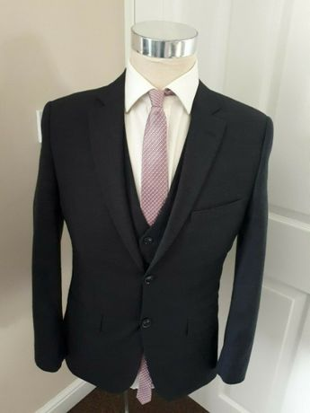 Marks & Spencer Slim Fit Wool Suit